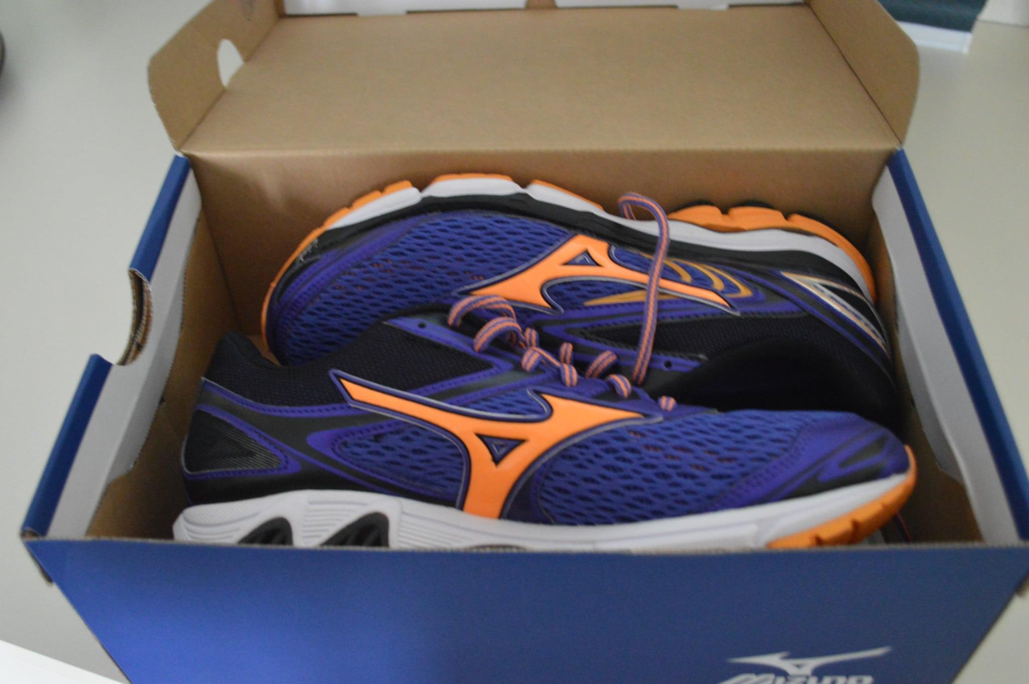 Nieuwe hardloopschoenen,run2day