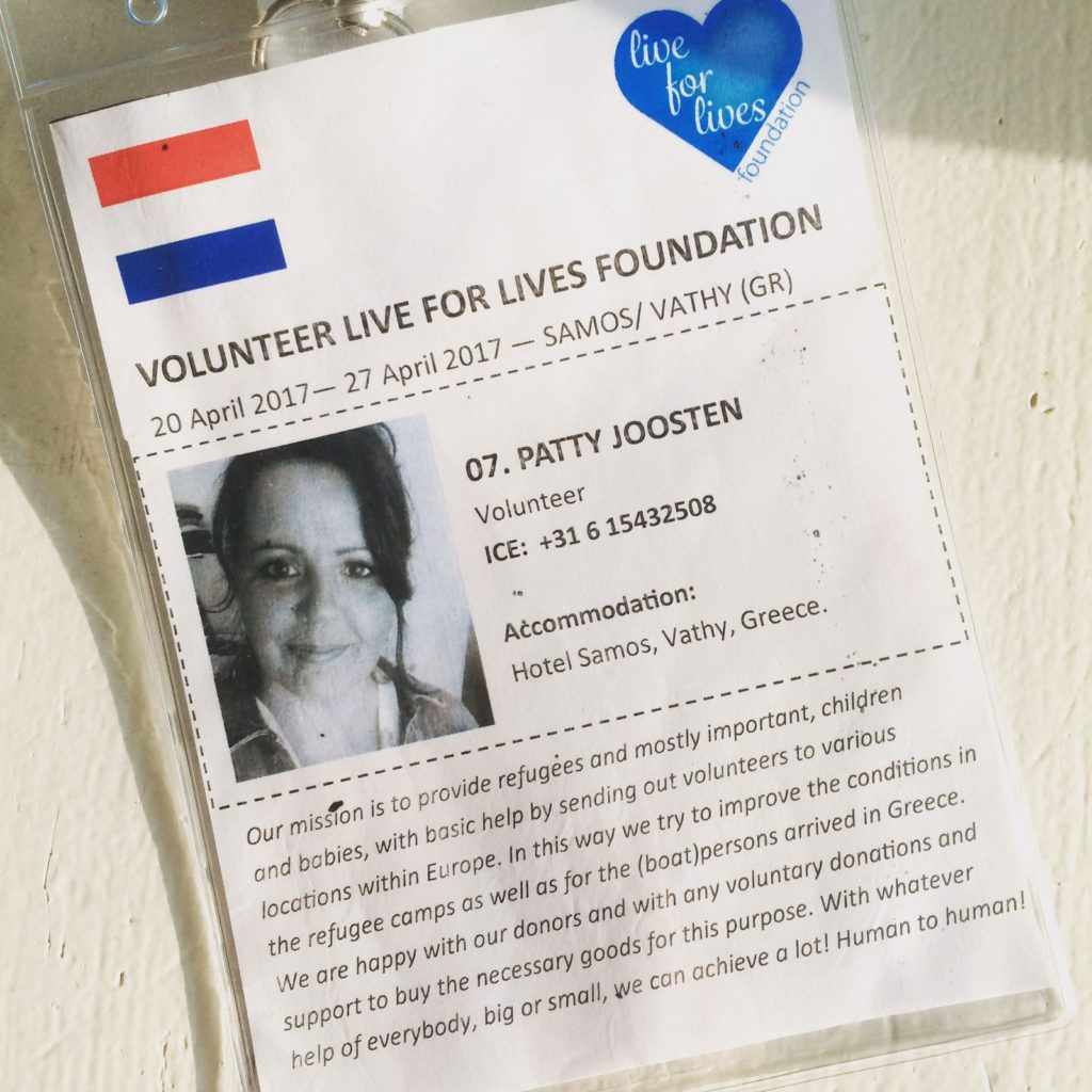 Patty Joosten, Live for Lives