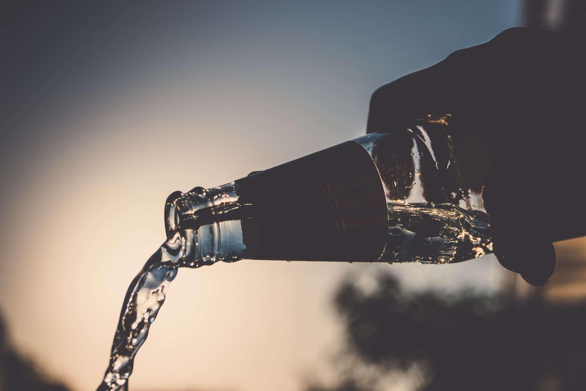 Teveel water drinken