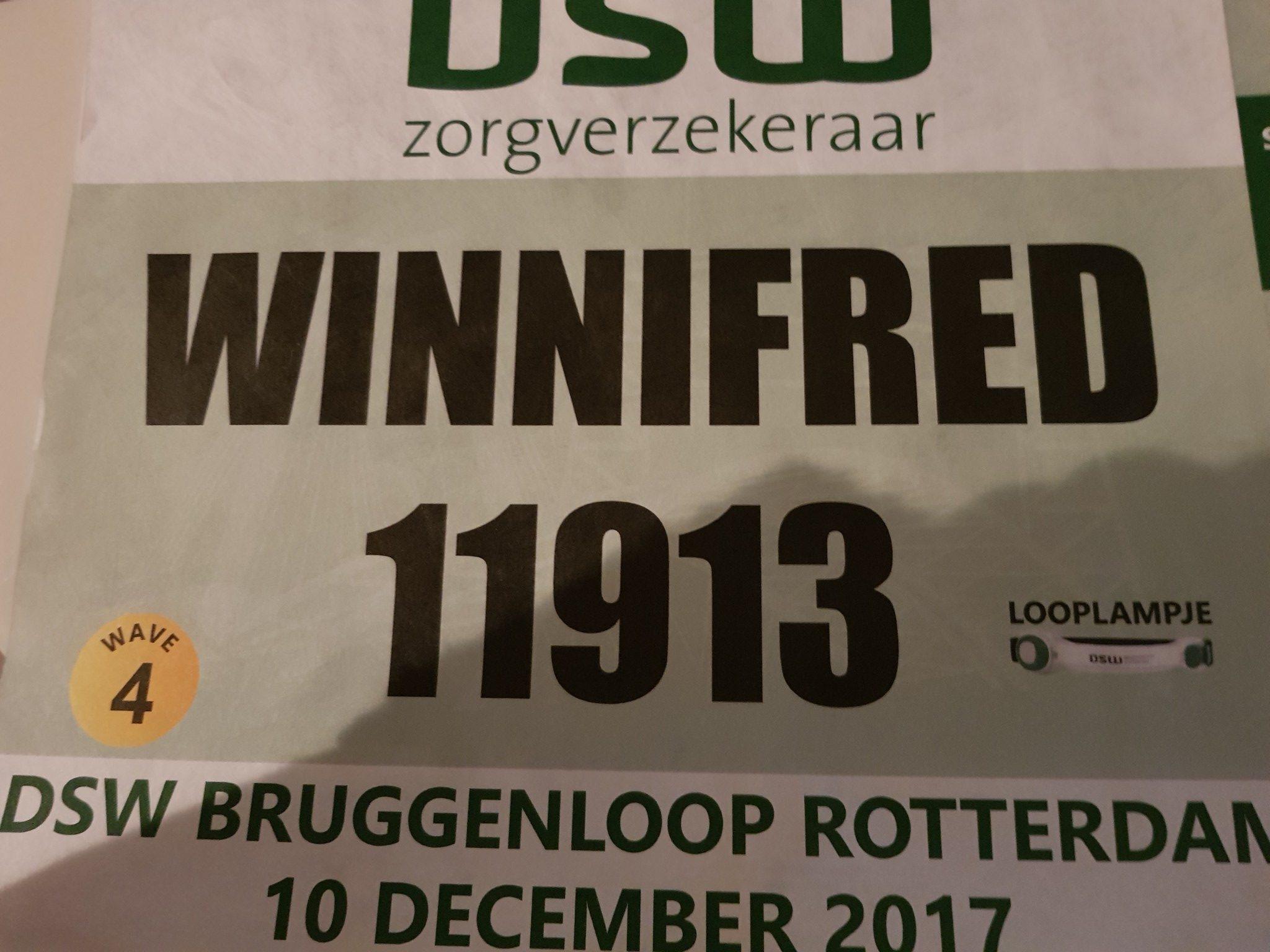 DSW Bruggenloop Rotterdam 2017